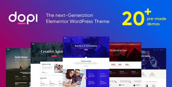 Dopi 1.2.1 - Elementor MultiPurpose WordPress Theme