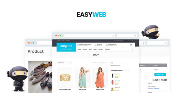 EasyWeb 2.4.4 - Hosting, SEO and Web Design Agancies