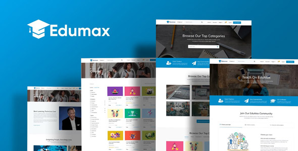 Edumax 2.0.1 - WordPress Theme To Build Online Course Portal