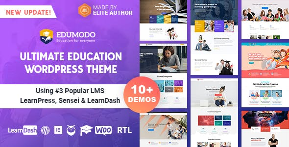 Edumodo 2.6.2 - Education WordPress Theme