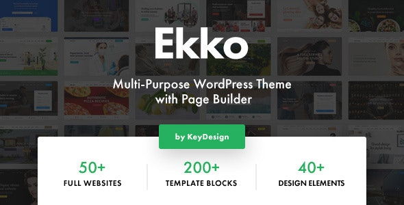 Ekko 2.2 Nulled - Multi-Purpose WordPress Theme