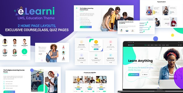 eLearni 1.5 - Online Learning & Education LMS