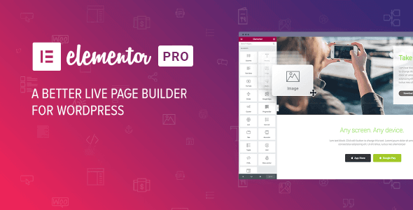 Elementor Pro 3.0.5 Nulled / Elementor Free v3.0.11 (Full Template Kits)