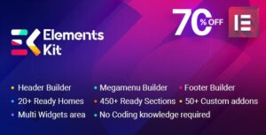 ElementsKit 1.5.7 Nulled - All In One Addons for Elementor
