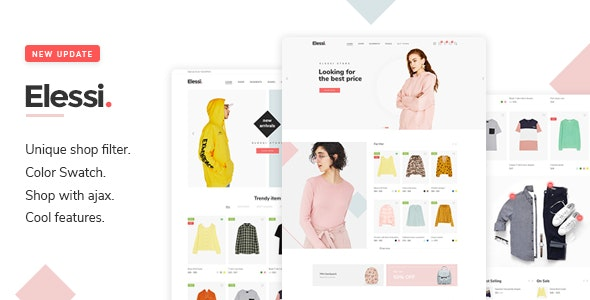 Elessi 3.7.4.1 - WooCommerce AJAX WordPress Theme
