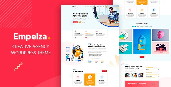 Empelza 1.4 - Creative Agency & Portfolio WordPress Theme