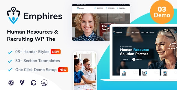 Emphires 1.3 - Human Resources & Recruiting Theme