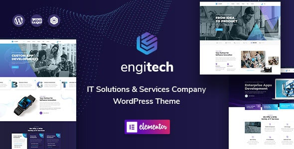 Engitech 1.0.5 - IT Solutions & Services WordPress Theme