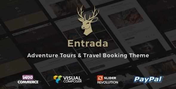 Entrada 3.7.9 - Tour Booking & Tour Adventure WordPress Theme