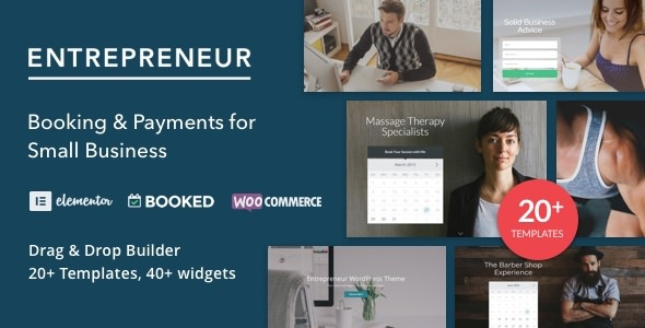 Entrepreneur 2.1.3 - Booking for Small Businesses