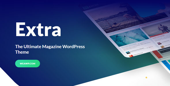 Extra 4.6.1 - The Ultimate Magazine WordPress Theme