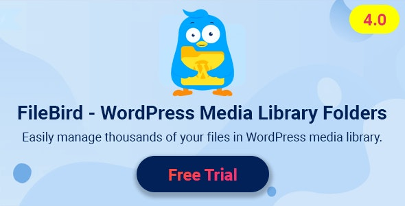 FileBird Pro 4.0.6 - WordPress Media Library Folders