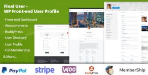 Final User 1.1.7 - WP Front-end User Profiles