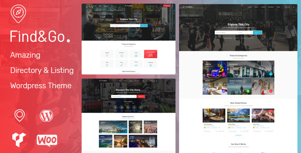 Findgo 1.3.20 - Directory & Listing WordPress Theme