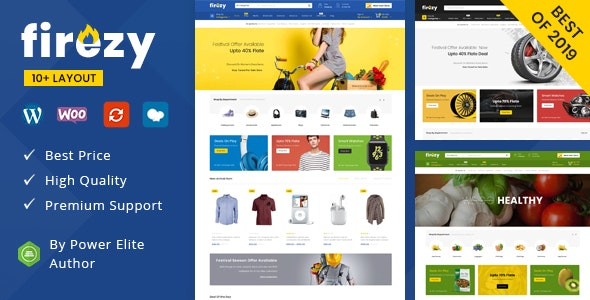 Firezy (7 February 2020) - Multipurpose WooCommerce Theme
