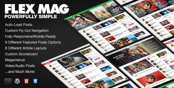 Flex Mag 3.2.0 - Responsive WordPress News Theme