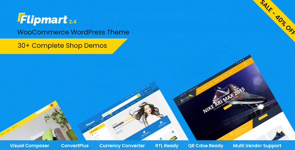 Flipmart 2.5 - Responsive Ecommerce WordPress
