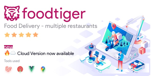 FoodTiger 1.4.0 - Food Delivery - Multiple Restaurants Free Download