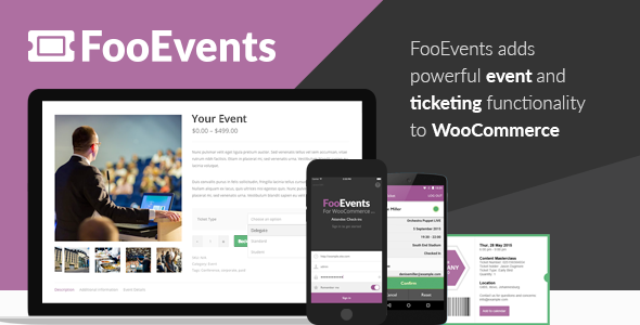 FooEvents for WooCommerce 1.11.45