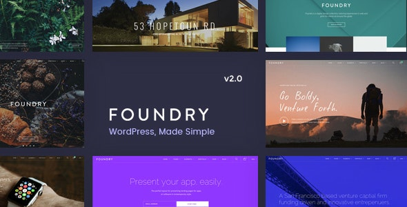Foundry 2.1.9 - Multipurpose, Multi-Concept WP Theme
