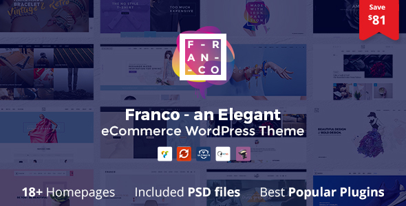 Franco 1.3.1 - Elegant WooCommerce WordPress Theme