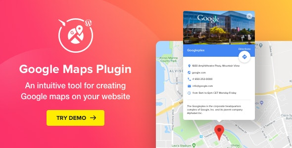 Google Maps 2.3.0 - WordPress Map Plugin