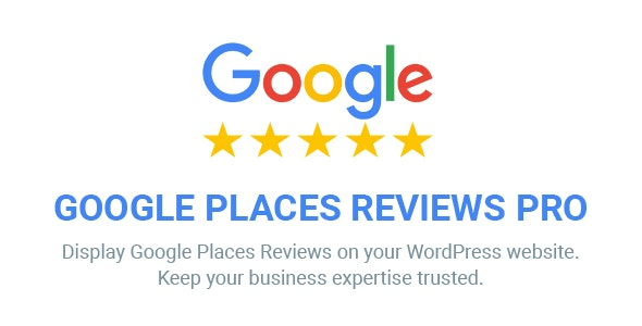 Google Places Reviews Pro 2.3.2 - WordPress Plugin