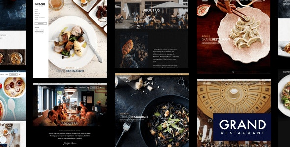Grand Restaurant 5.7.1 Nulled - WordPress Theme