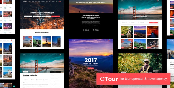 Grand Tour 4.7.1 Nulled - Travel Agency WordPress Theme