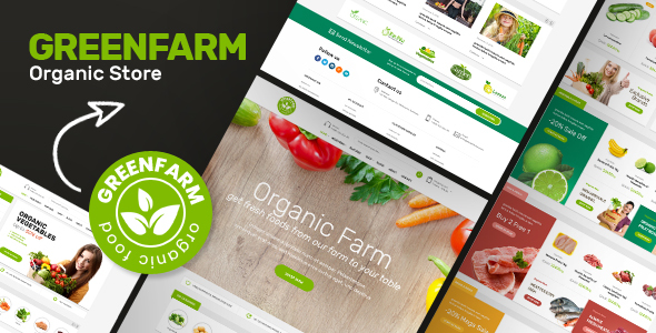 Greenfarm 1.0.6 - Organic Theme for WooCommerce WordPress