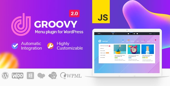 Groovy Mega Menu 2.2.12 Nulled - Menu Plugin for WordPress Free Download