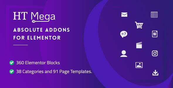 HT Mega Pro 1.2.7 Nulled - Absolute Addons for Elementor Page Builder
