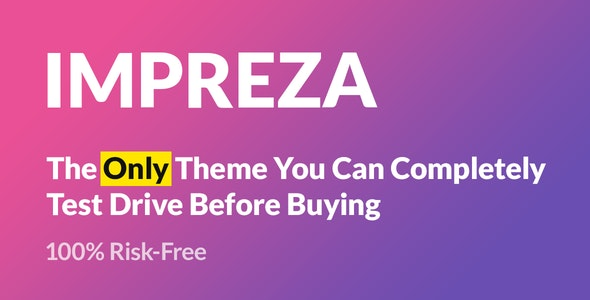 Impreza 7.8.4 Nulled - Multi-Purpose WordPress Theme
