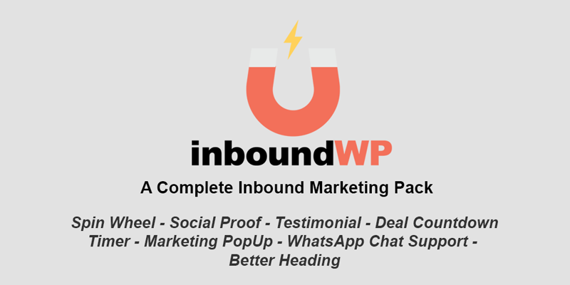 InboundWP 1.0.1 (Nulled) - Marketing Plugin