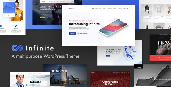 Infinite 3.3.3 - Multipurpose WordPress Theme
