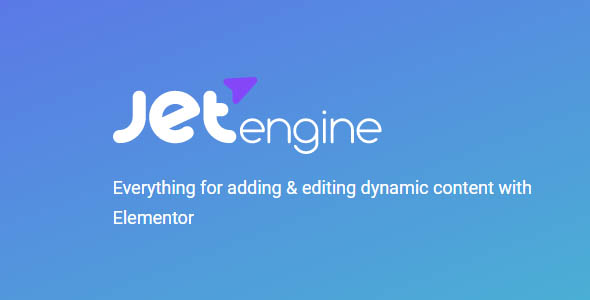 JetEngine 2.4.12 - Plugin for Elementor Free Download