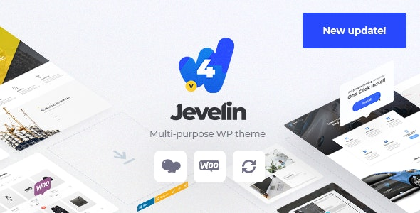 Jevelin 4.8.2 - Multi-Purpose Responsive WordPress AMP Theme