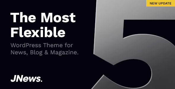JNews 5.0.3 (Nulled) - Newspaper Magazine Blog AMP WordPress Theme