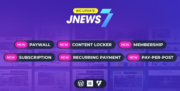 JNews 7.1.0 Nulled - WordPress Newspaper Magazine Blog AMP Theme