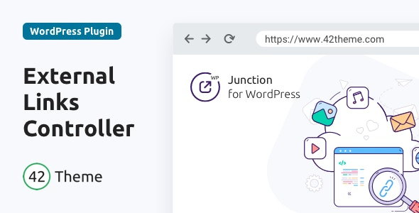 Junction 1.0.2 - External Links Controller for WordPress