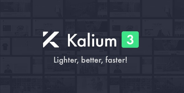Kalium 3.0.7 Nulled - Creative Theme for Professionals