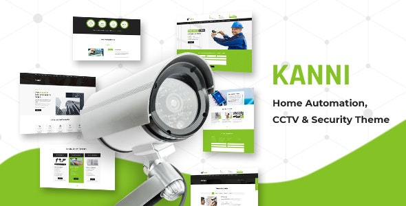 Kanni 2.2 - Home Automation, CCTV Security Theme