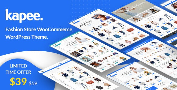 Kapee 1.3.4 Nulled - Fashion Store WooCommerce Theme