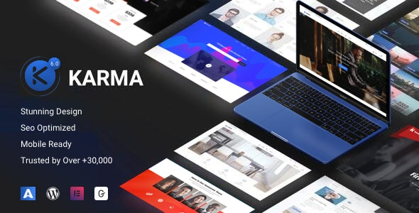 Karma 6.0.9 - Elementor Business WordPress Theme