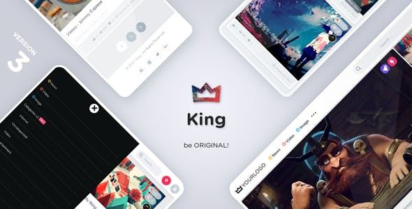King 3.2 - Viral Magazine WordPress Theme