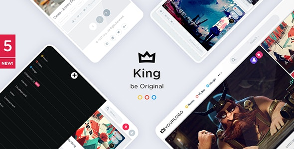 King 5.5.1 Nulled - Viral Magazine WordPress Theme