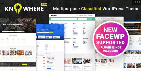 Knowhere Pro 1.4.7 - Multipurpose Directory WordPress Theme