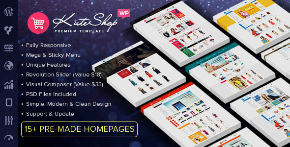 KuteShop 3.7.0 - Multipurpose WooCommerce Theme