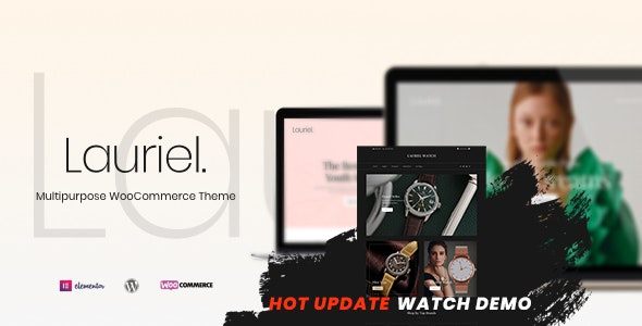 Lauriel 1.0.6 - Multipurpose WooCommerce Theme