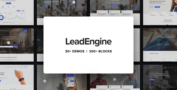 LeadEngine 1.7.4 - Multi-Purpose Theme with Page Builder